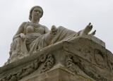 Dans le cimetière de Montparnasse