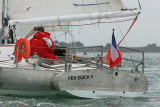 Pen Duick V arrive pour la Semaine du Golfe 2007 le mercredi 16 mai