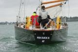 Pen Duick II arrive pour la Semaine du Golfe 2007 le mercredi 16 mai