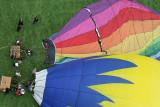 Hottolfiades 2007 - Journée du dimanche 26/08 - Hot air balloons meeting in Belgium