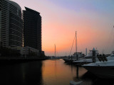 Docklands Marina Sunset