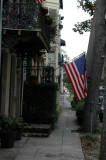 Side walk patriotism