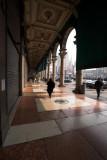 Entering the Duomo square
