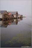 Boat houses at Port Rowan