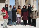 Shiraz University archaeology students