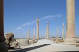 Apadana Palace columns