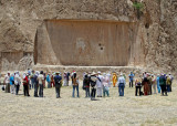 Zaroastrian ceremony at Royal Tombs