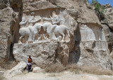 Sassanian bas relief