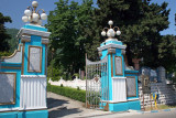Pink Palace art deco gates