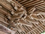 Okute temple wood work