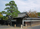 Original honjin (inn) gateway, Ena (Oi)