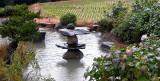 Garden in a rice field