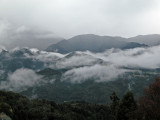 View of Mount Ena from Magome