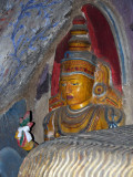 Cave temple image