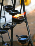 Oil lamp offerings