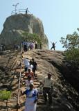 The climb up to Aradhana Gala