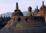 Borobudur at dawn