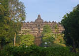 Borobudur from the east