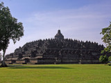 Borobudur from the north west