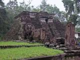Mayan-like pyramid, Candi Sukuh