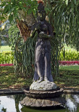 Statue in Manohara Hotel grounds