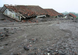 Houses buried by pyroclastic flow, 2006