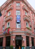 Hemingway's favourite hotel, the Ambos Mundos