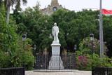Plaza de Armas statue of Cespedes