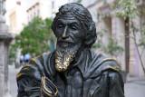 Bronze statue, Plaza de San Francisco de Asis