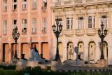 Colonial facade near the Malecon