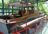 Hemingway's boat, El Pilar, under restoration