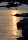 Sunset from La Cabana