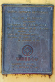 UNESCO plaque