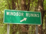 I guess that's how they say 'RUINS' in Mississippi!!