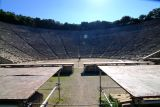 23,000 seat amphitheatre with perfect accoustics from 500 BC