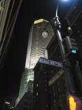 Street Scene at Night, NYC