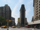 Street Scene - Flat Iron Building, NYC