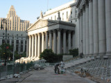 Street Scene -  The New York State Supreme Court NYC