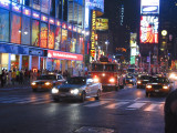 Times Square, at Night NYC