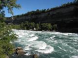 Niagara River below Falls  - White Water Walk