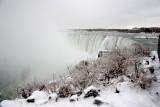Winter At Niagara - Brink of Horseshoe Falls