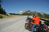 Almost at Mount Rushmore, South Dakota