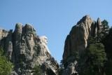 Leaving Mount Rushmore, South Dakota