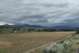 Roadside Scene Utah - Rain Coming