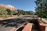 Accross the road from Zion Park Inn, Springdale, Utah