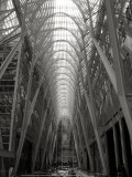 Near entrance to The Hockey Hall Of Fame,  Allen Lambert Galleria, Brookfield Place (formerly BCE Place)