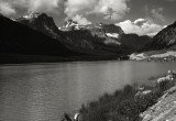 Lower Waterfowl Lake, E of Columbia Icefields