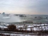 Lower Water Levels in Winter, Niagara Falls, Ontario