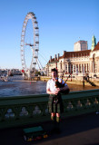 Piper at The London Eye