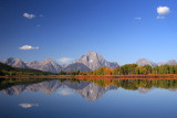Mt. Moran from Oxbow Bend